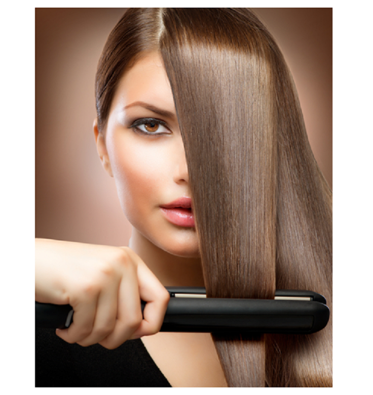 Flat Iron Hair Styling Tips Picture